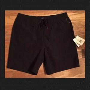 ONIA Swim Trunks Size LARGE BLACK The Charles